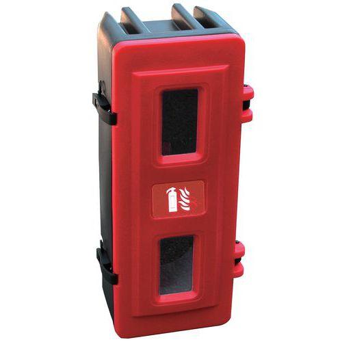 Plastová skříňka na hasicí přístroj, 6 kg