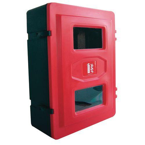 Plastová skříňka na hasicí přístroj, 2 x 12 kg