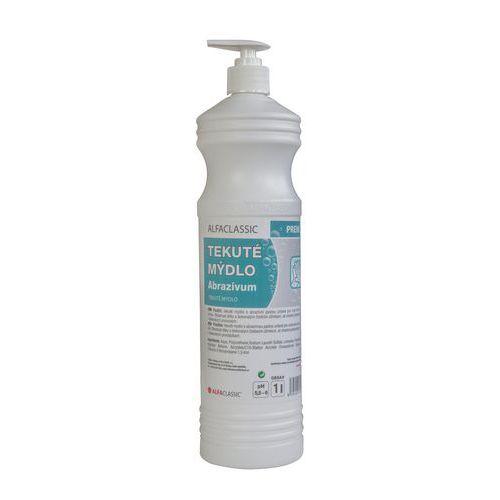 Tekuté mýdlo Abrazivum Premium, 1 l, s dávkovací pumpou