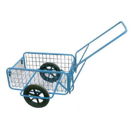 Dvoukolový vozík s dušovými koly 300 mm, do 80 kg
