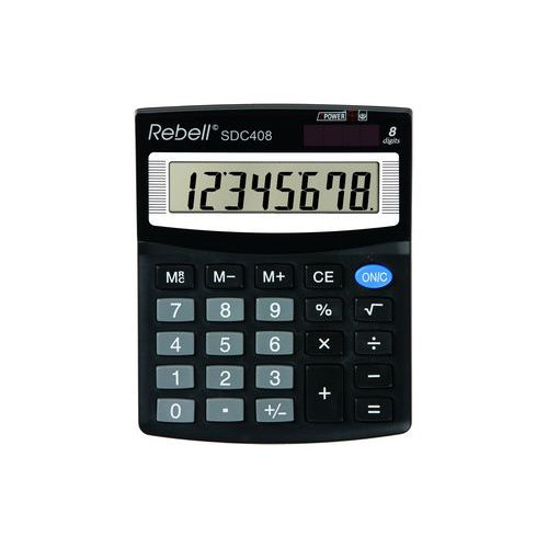 Kalkulačka Rebell SDC 408 BX