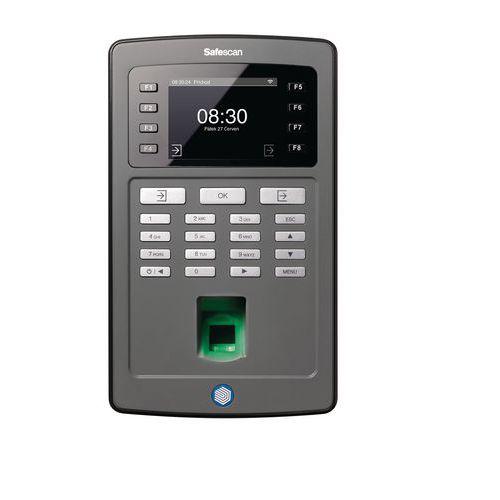Docházkový systém na otisk prstu i kartu nebo čip
