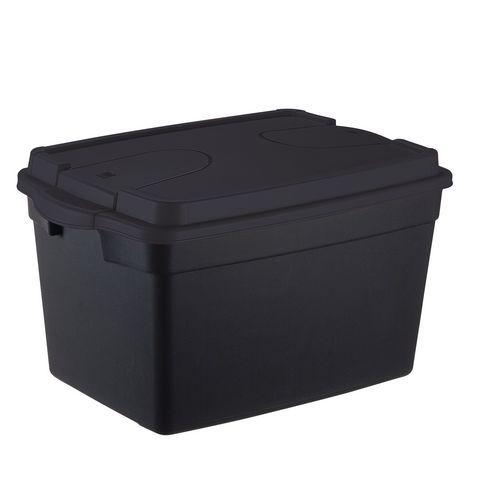 Plastový odolný úložný box s víkem, 45 l