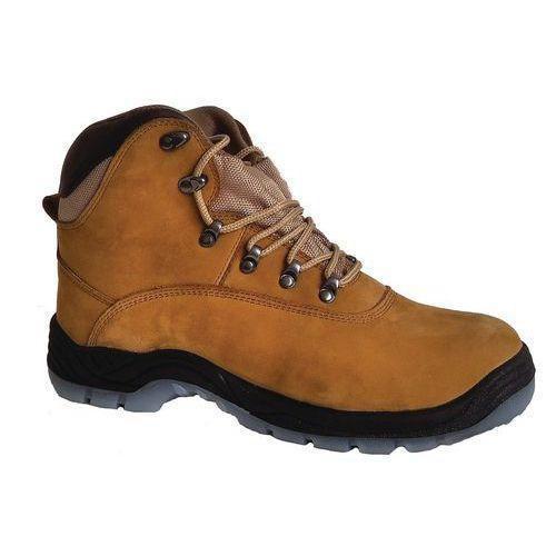 Pracovní kožené kotníkové boty Manutan s ocelovou špicí 8afc5a5e95