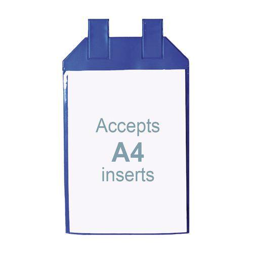 Informační kapsy, A4, magnetické