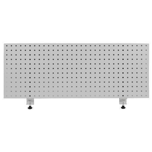 Závěsný panel na nářadí, 45,6 x 118,1 cm, šedý