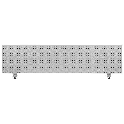 Závěsný panel na nářadí, 45,6 x 197,5 cm, šedý