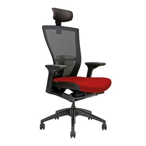 Kancelářská židle Merens, červená - Prodloužená záruka na 10 let