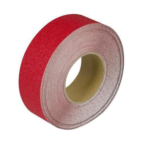 Protiskluzová podlahová páska, 18 m, červená