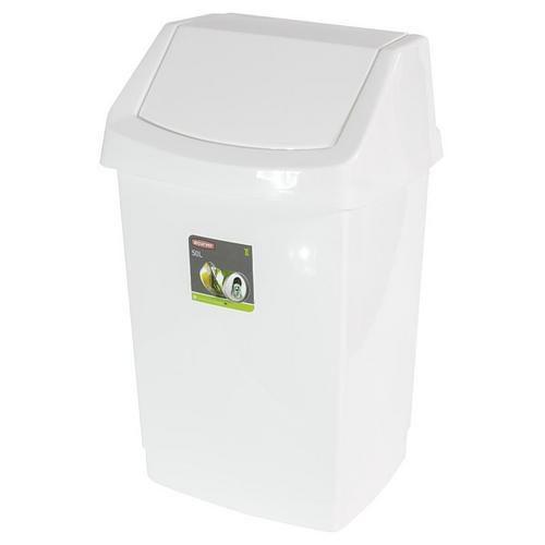 Plastový odpadkový koš Merida Universal, objem 50 l