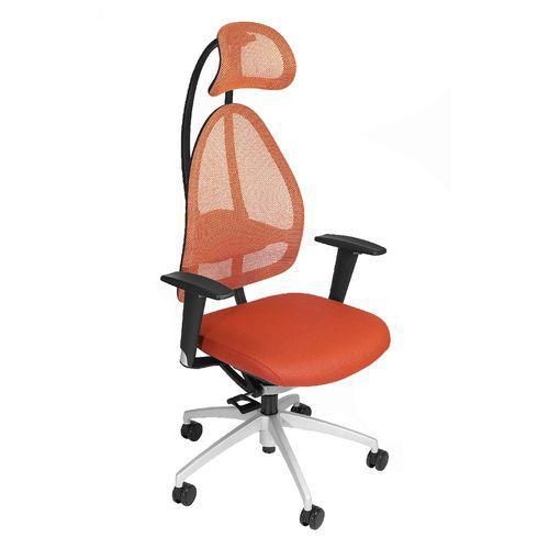 Kancelářská židle Open Art, oranžová