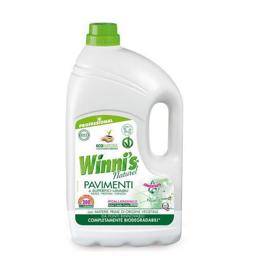 Ekologický čisticí prostředek na podlahy Winnis Pavimenti, 5 l, 4 ks