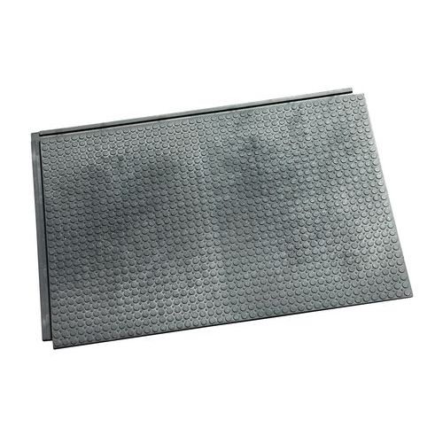 Vnitřní podlahová deska, se spojovacími zámky a spodním žebrováním, 2 500 kg/dm2