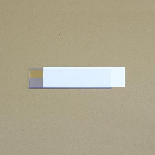 Manutan držák etiket na regály, samolepicí, 54 x 200 mm
