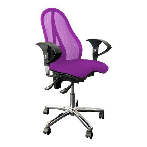 Kancelářská židle Sitness 15, fialová