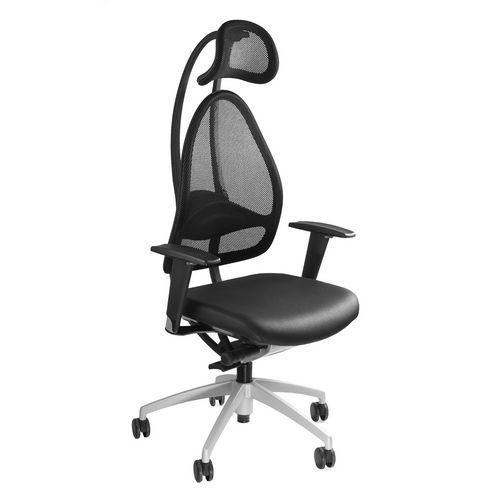 Kancelářská židle Open Art, černá