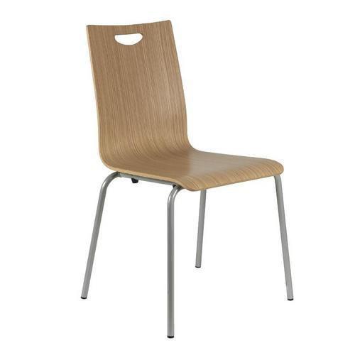 Dřevěná jídelní židle Lily, světlé zebrano - Prodloužená záruka na 10 let