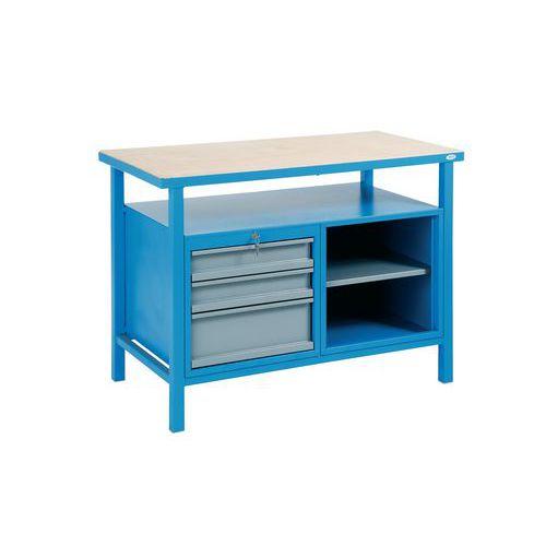 Svařovaný dílenský stůl Rivt, 85 x 120 x 60 cm