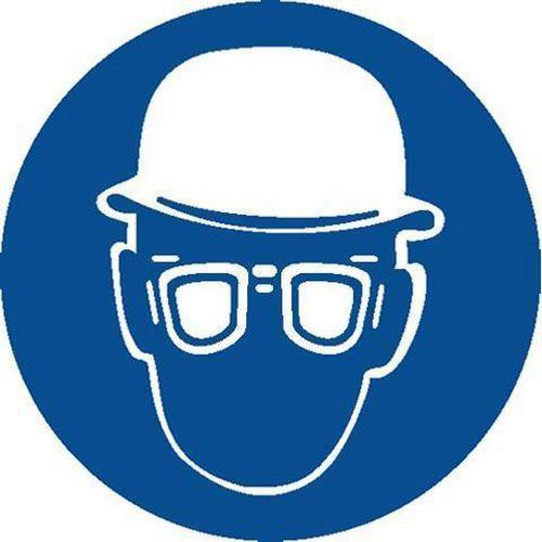 Příkazové bezpečnostní tabulky - Používej ochranné brýle 69fec0eff9