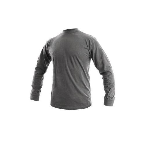 Pánské tričko s dlouhým rukávem CXS, tmavě šedé