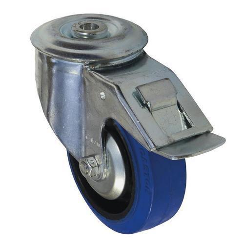 Gumové transportní kolo se středovým otvorem, průměr 100 mm, oto