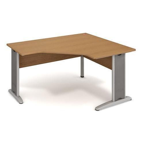 Rohový kancelářský stůl, Cross, 160 x 120 x 75,5 cm, pravé prove