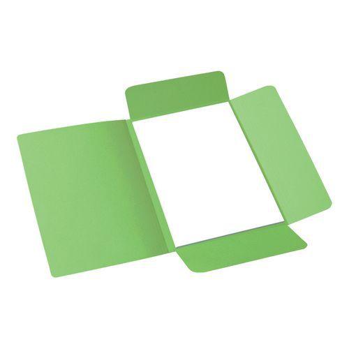 Papírové spisové desky Roll, 50 ks, zelené