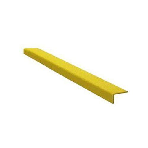 Protiskluzový profil na schody, úzký, žlutý, 80 cm