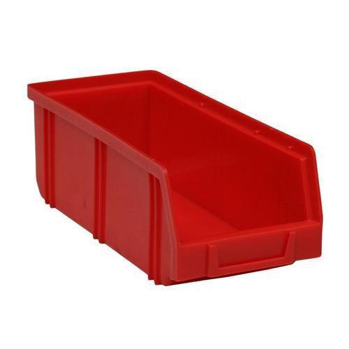Plastový box 8,3 x 10,3 x 24 cm, červený