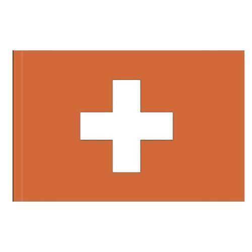 Státní vlajka, s karabinou, 150 x 100 cm, Švýcarsko