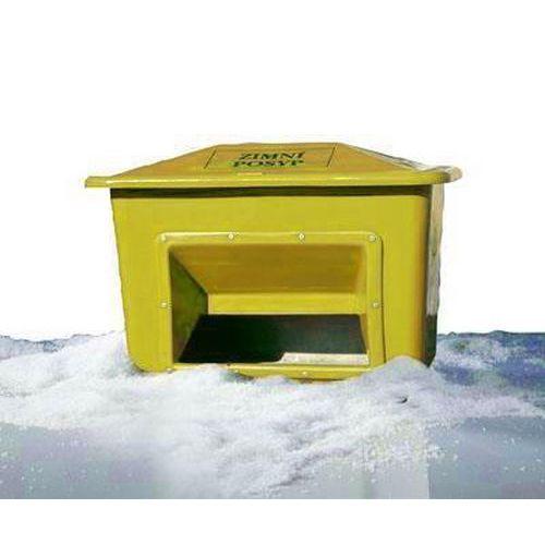 Nádoba na zimní posyp, 220 l, žlutá - Prodloužená záruka na 10 let