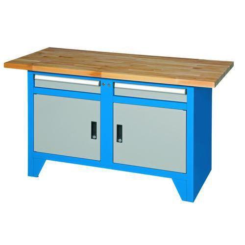 Svařovaný dílenský stůl Redig, 88 x 150 x 70 cm