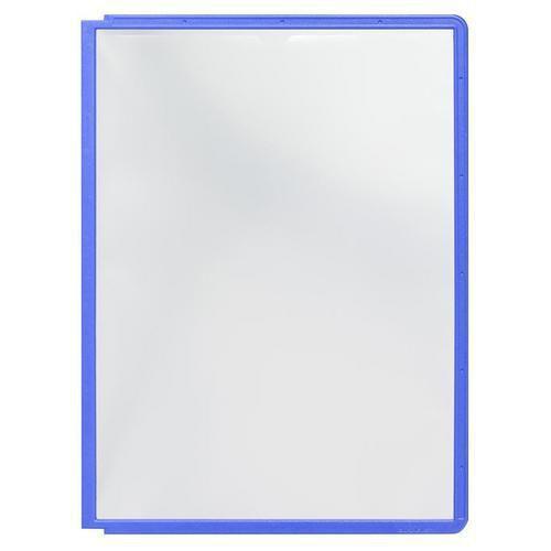 Informační rámečky Cordoba A4, 10 ks, modré