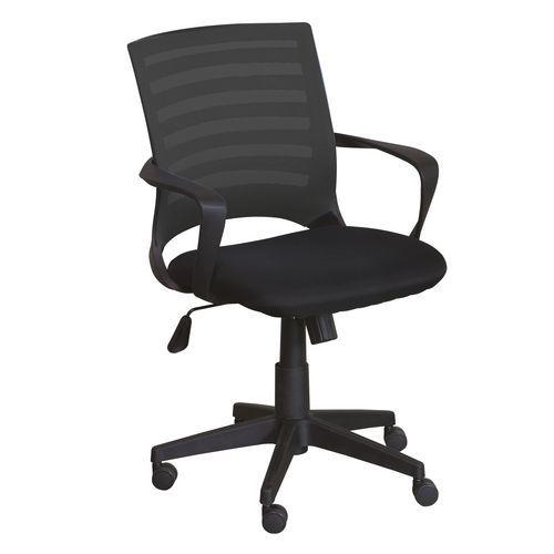 Kancelářská židle Ella, černá