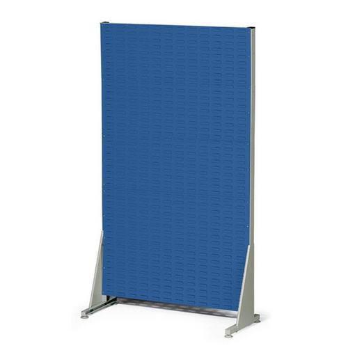 Jednostranný PERFO regál, výška 181 cm, modrý