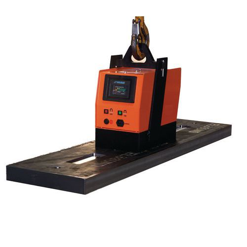 Bateriový břemenový magnet, do 2 500 kg