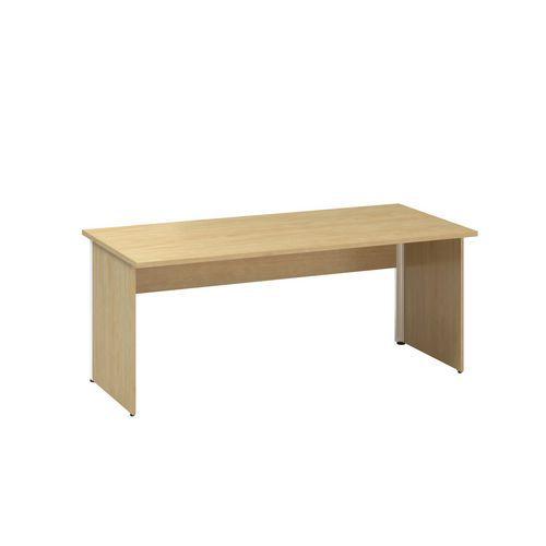 Kancelářský stůl Alfa 100, 180 x 80 x 73,5 cm, rovné provedení,