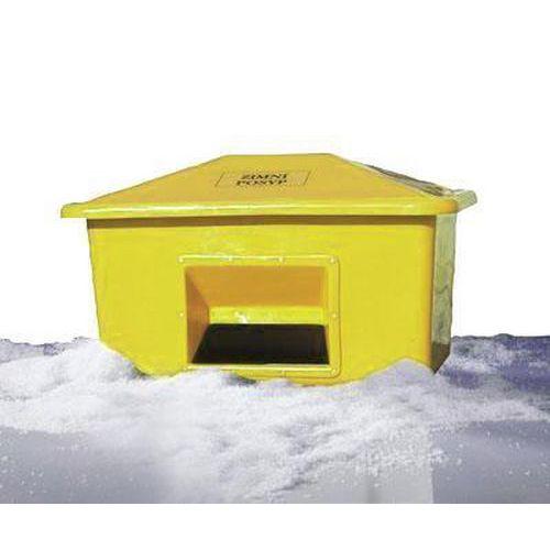 Nádoba na zimní posyp, 550 l, žlutá