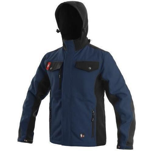 Canis Pánská softshellová bunda, modro-černá, vel. S