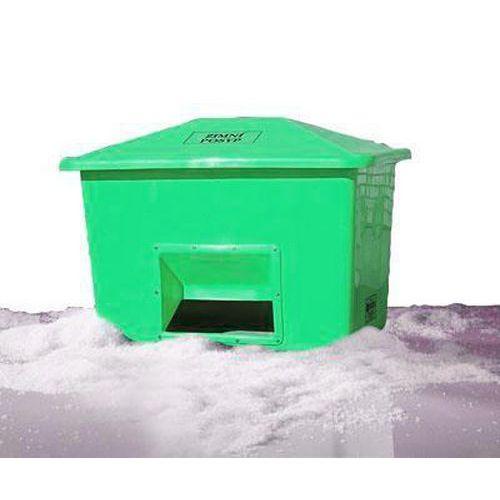 Nádoba na zimní posyp, 1 100 l, zelená