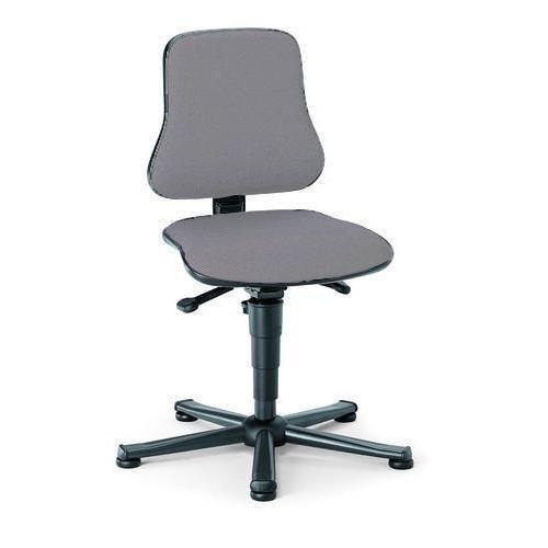 Pracovní židle Worker s kluzáky, šedá