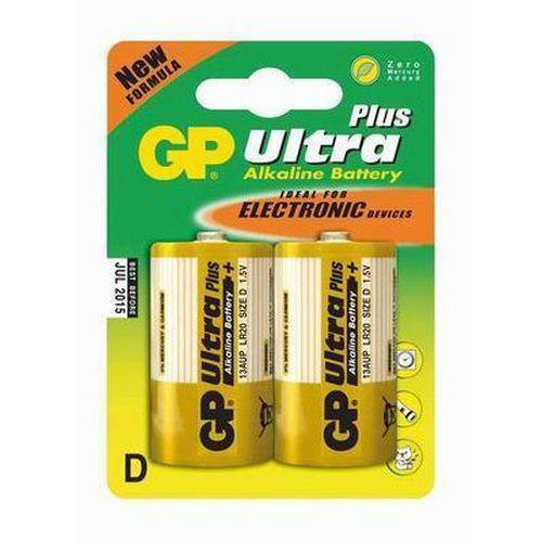 Baterie GP Ultra Plus Alkaline LR20 (D, velké mono)