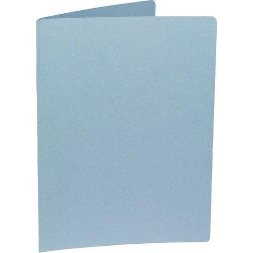 Papírové spisové desky Lenny, 100 ks, modré