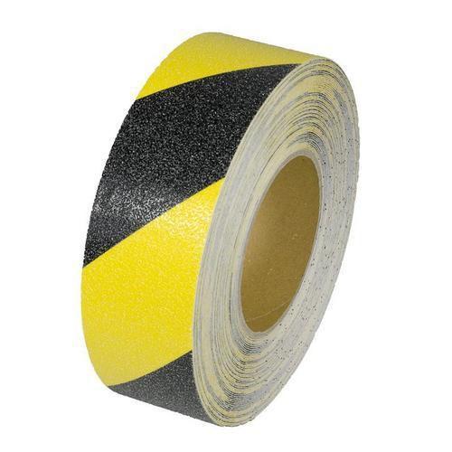 Protiskluzová podlahová páska, 18 m, černá/žlutá