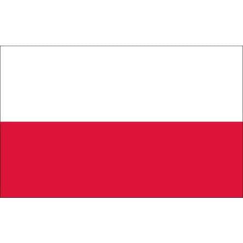 Malá státní vlajka, s očkem pro zavěšení, 16 x 11 cm, Polsko