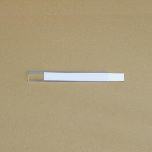 Manutan držák etiket na regály, samolepicí, 25 x 200 mm