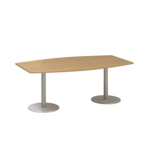 Konferenční stůl Alfa 400, 200 x 110 x 74,2 cm, dezén buk