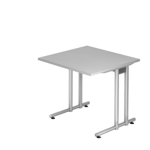 Kancelářský stůl Nomeris, 80 x 80 x 72 cm, rovné provedení, svět