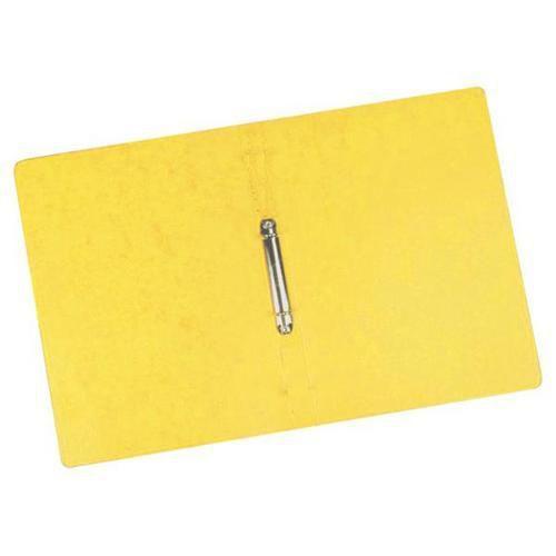 Kroužkový pořadač Clear, 20 ks, 2 kroužky, žlutý