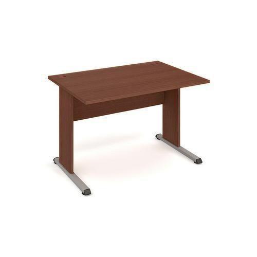 Kancelářský stůl Proxy, 120 x 80 x 75,5 cm, rovné provedení, dezén ořech